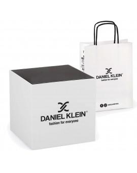 Montre Daniel Klein femme, diamètre 3,4 cm, garantie 2 ans.