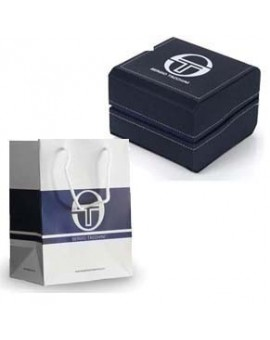 MONTRE SERGIO TACCHINI METAL 3 COMPTEURS