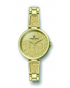 Montre Daniel Klein Femme bracelet acier doré fond champagne