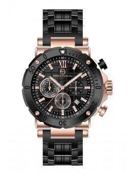 Montre Sergio Tacchini homme bracelet métal noir