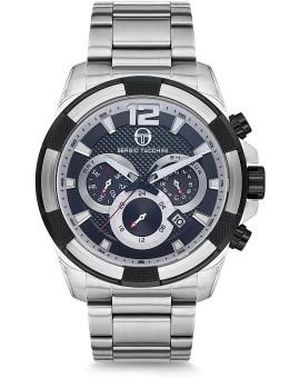 Montre Sergio Tacchini homme bracelet métal argenté