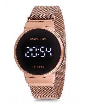 Montre Daniel Klein D-TIME bracelet magnetique rose tactile