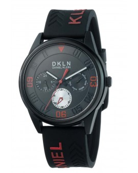 Montre Daniel Klein homme bracelet silicone