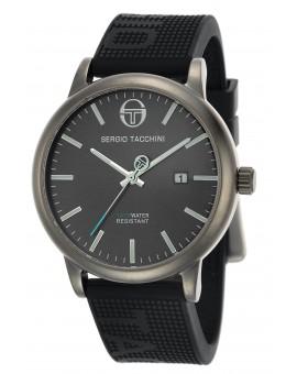 Montre Sergio Tacchini homme bracelet silicone gris
