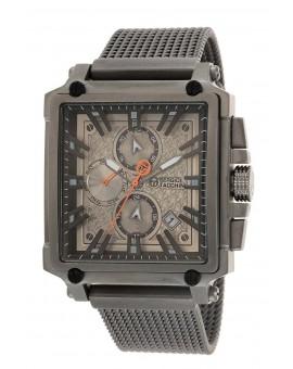 Montre Sergio Tacchini homme bracelet métal gris