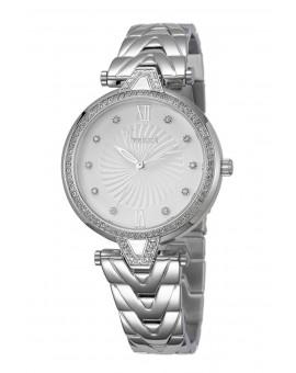Montre Freelook femme bracelet acier argenté