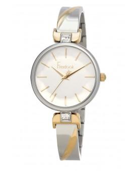 Montre Freelook femme bracelet acier argenté/ doré