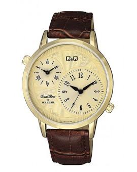 Montre Q&Q homme bracelet cuir