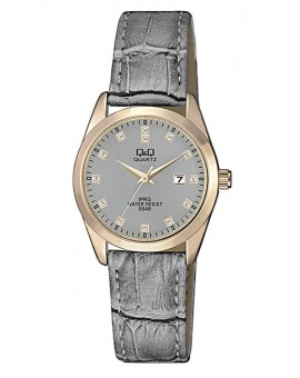 Montre Q&Q femme bracelet cuir