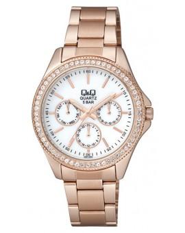 Montre Q&Q femme bracelet métal