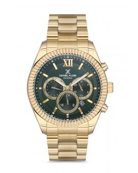 Daniel Klein Homme exclusive bracelet dore fond vert