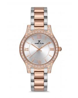 Daniel Klein Femme bracelet bicolore rose fond gris