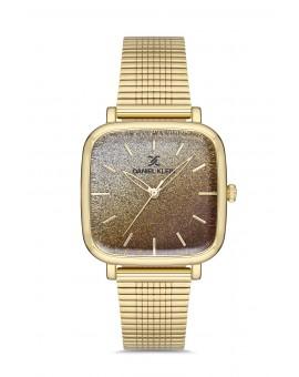 Daniel Klein Femme bracelet dore fond dore