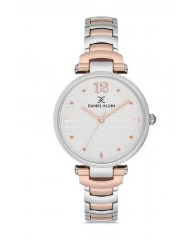 Daniel Klein Femme bracelet bicolore rose fond blanc