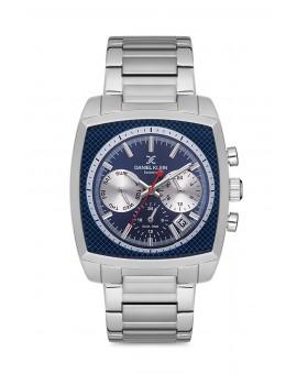 Daniel Klein Homme exclusive bracelet metal fond bleu