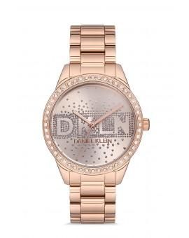 Daniel Klein Femme bracelet rose fond rose