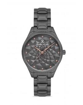 Daniel Klein Femme bracelet metal noir fond noir
