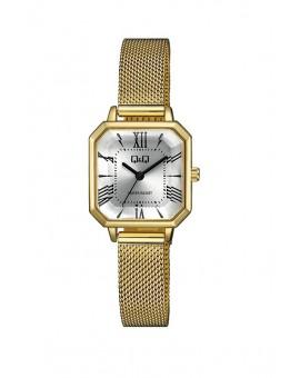 Montre Q&Q Femme bracelet métal doré