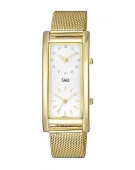 Montre Q&Q Métal Femme dorée double affichage