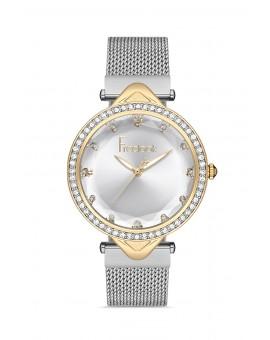 Montre femme bracelet milanais argent