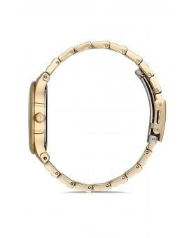 Montre femme bracelet métal doré
