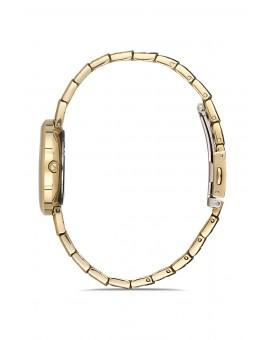 Montre femme bracelet métal dorée