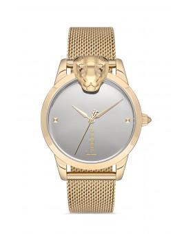Montre femme bracelet milanais doré