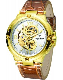 Montre homme mécanique Daniel Klein diamètre 4 cm, garantie 2 ans.Bracelet ultra resistant.