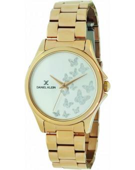 Montre femme Daniel Klein avec un magnifique bracelet lisse diamètre 3,2 cm, garantie 2 ans.Fond papillon.