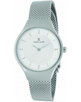 Montre femme Daniel Klein avec un bracelet milanais diamètre 2,8 cm, garantie 2 ans