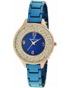 Montre femme Daniel Klein avec un magnifique bracelet souple très original diamètre 3 cm, garantie 2 ans.