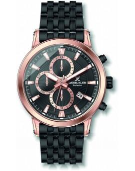 Montre homme Daniel Klein multifonctions diamètre 4,4 cm, garantie 2 ans.Une montre de la gamme exclusive.