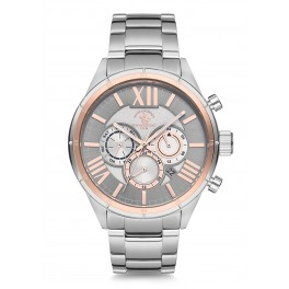 MONTRE SANTA BARBARA HOMME METAL