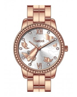 MONTRE FREELOOK METAL  ROSEE