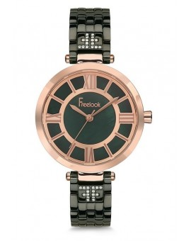 MONTRE FREELOOK FEMME TABAC