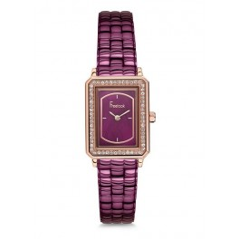 MONTRE FREELOOK FEMME SILVER CARREE