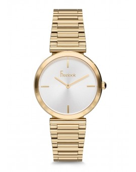 MONTRE FREELOOK DOREE TABAC